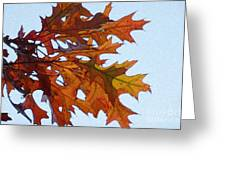 Autumn Leaves 21 Greeting Card