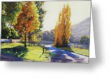 Autumn Light Tarana Greeting Card
