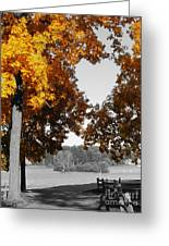 Autumn Love  Greeting Card