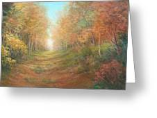 Autumn Majesty Greeting Card
