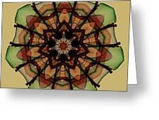 Autumn Mandala Greeting Card