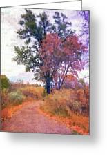Autumn Melancholy Greeting Card