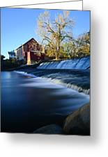 Autumn Mill Portrait Greeting Card