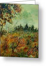 Autumn Mist 68 Greeting Card