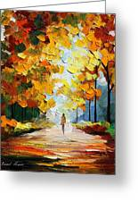 Autumn Mood Greeting Card