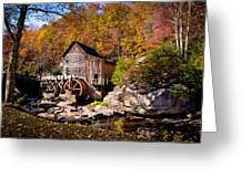 Autumn Morning In West Virginia Greeting Card