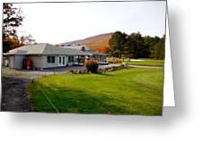 Autumn Mountain Golf Course 6 Greeting Card