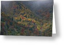 Autumn Mountains Greeting Card