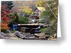 Autumn On Glade Creek Greeting Card