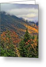 Autumn On Mount Mansfield Vermont Greeting Card
