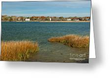 Autumn On The Bass River I Greeting Card