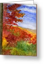 Autumn On The Cherohala Skyway Greeting Card