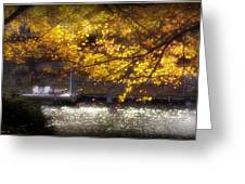 Autumn On The Cove Greeting Card
