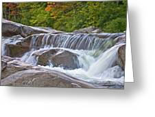 Autumn On The Kancamagus Greeting Card