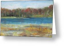 Autumn On The Maurice River Greeting Card