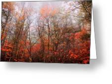 Autumn On The Mountain Greeting Card