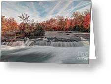 Autumn On The Niagara Greeting Card