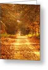Autumn Paradisium Greeting Card