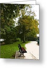 Autumn Park  Greeting Card