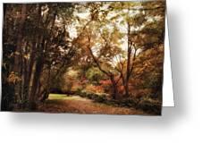 Autumn Passage II Greeting Card