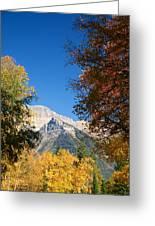 Autumn Peaks Greeting Card