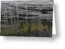 Autumn Pond Greeting Card