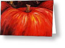 Autumn Pumpkins Greeting Card
