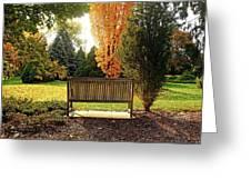 Autumn Quiet Greeting Card