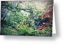 Autumn Rain Greeting Card