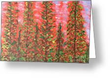 Autumn Vivaldi Greeting Card