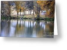 Autumn Reflection 16 Greeting Card