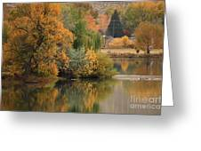 Autumn Reflection 41 Greeting Card