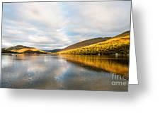 Autumn Reflection At Arrochar Greeting Card