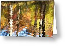 Autumn Reflections-3 Greeting Card