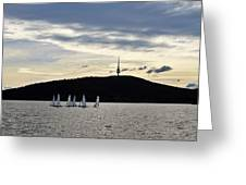 Autumn Regatta Greeting Card