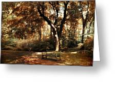 Autumn Repose Greeting Card