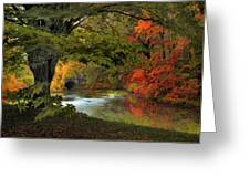 Autumn Reverie Greeting Card by Jessica Jenney