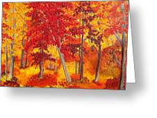 Autumn Richness Greeting Card