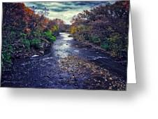 Autumn Riders On The Storm Greeting Card