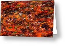 Autumn Riot Greeting Card
