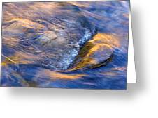 Autumn River Ripple Rapids Greeting Card