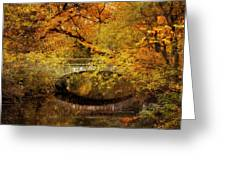 Autumn River Views Greeting Card