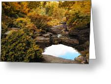 Autumn Rock Garden Greeting Card