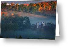 Autumn Scenic - West Rupert Vermont Greeting Card