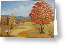 Autumn Season Greeting Card