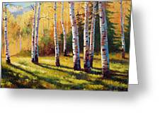 Autumn Shade Greeting Card