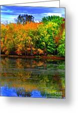 Autumn Sings Greeting Card
