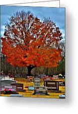 Autumn Somnolence  Greeting Card
