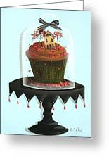 Autumn Spice Cupcake Greeting Card