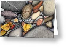 Autumn Stones Greeting Card by JQ Licensing